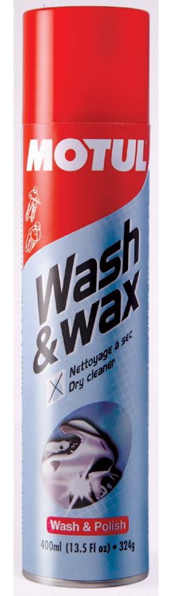MOTUL Wash Wax Aerozol - 400 ml