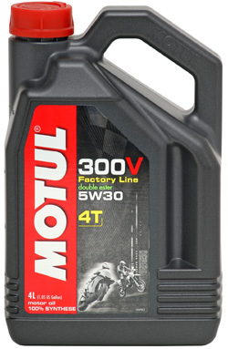 MOTUL 300V 4T 5W-30 Double Ester Factory Line - 4 litry