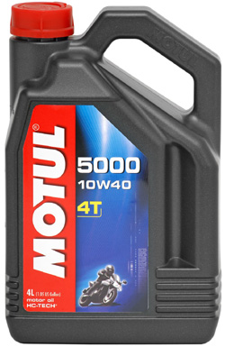 MOTUL 5000 4T 10W-40 HC-TECH - 4 litry