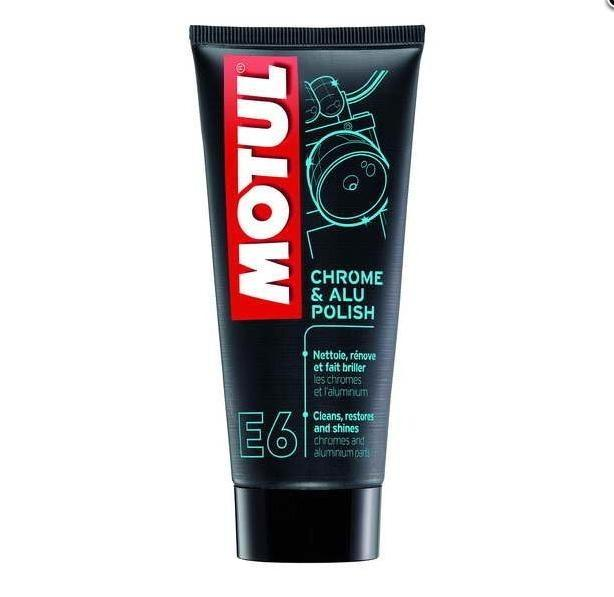 MOTUL E6 CHROME & ALU POLISH 100 ml SRODEK DO PIELEGNACJI.